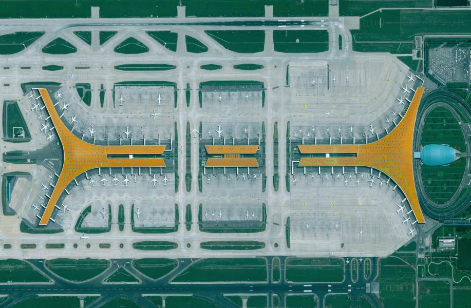 全球30处重要交通基建航空摄影,直观感受人类的生产力