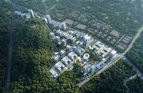竞赛获胜方案 | 深圳鹏城实验室石壁龙园区一期 / 10 Design