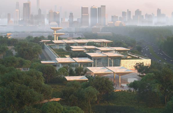方案   深圳红树林湿地博物馆 / Nieto Sobejano Arquitectos、MLA+、瓦地设计