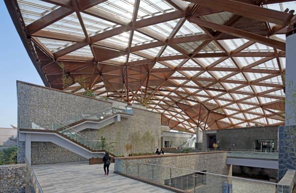 南宁园博园园林艺术馆:延续山形,覆于聚落 / 中国建筑设计研究院