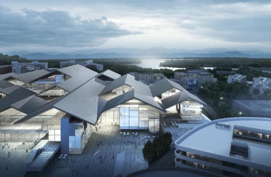中标方案   四期科创平台-重庆两江协同创新区 / 汤桦建筑设计+中建西南院