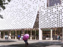 Mecanoo澳门新中央图书馆方案中选,以格栅元素贯穿设计