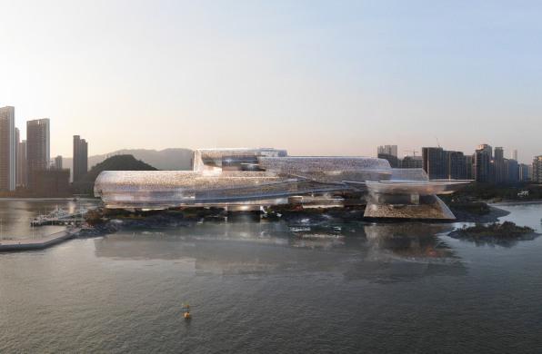 """让·努维尔深圳歌剧院中标方案:""""海之光"""",让音乐与大海相遇"""