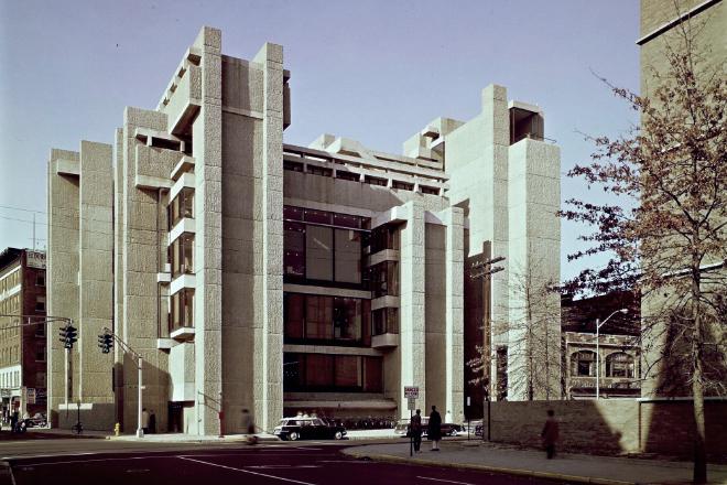 经典再读98 | 耶鲁大学艺术与建筑学院大楼:激情与争议