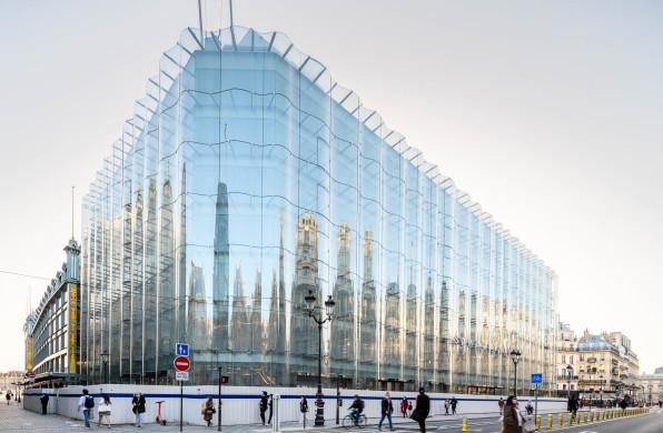 SANAA巴黎新作,莎玛丽丹百货公司即将开幕