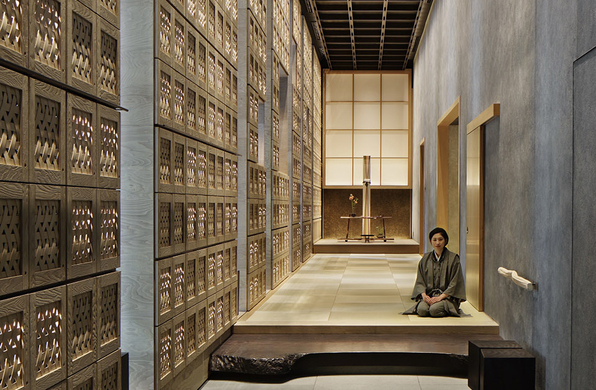 设计酒店47 | 虹夕诺雅东京:现代日式旅馆之梦
