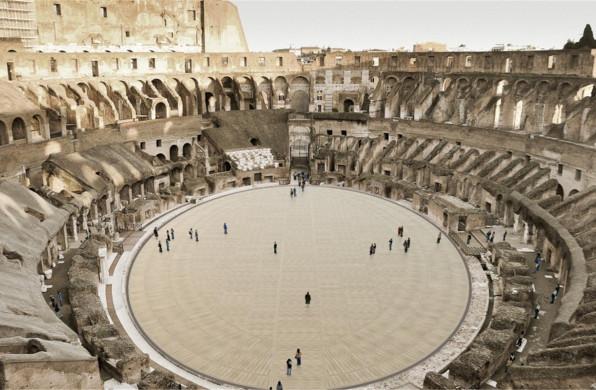 罗马斗兽场即将翻新,以可移动地板提高场地实用性