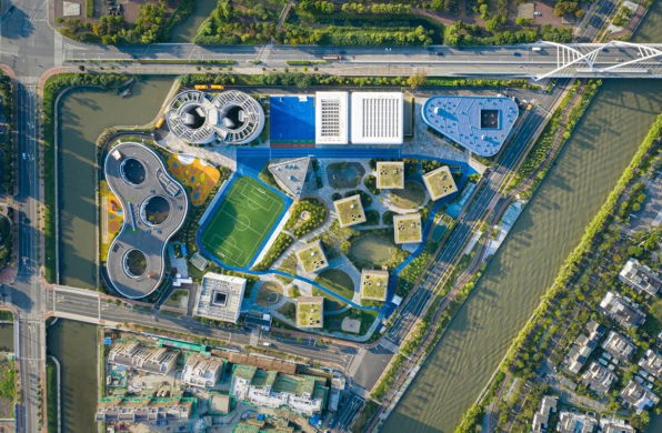OPEN校园建筑新作:上海青浦平和双语学校