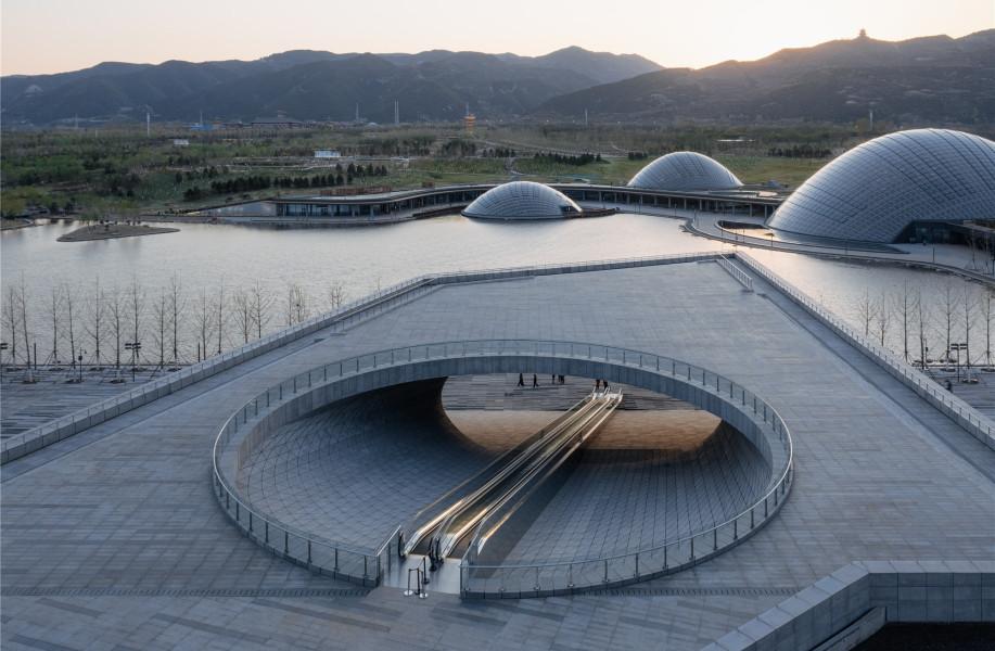 太原植物园 / Delugan Meissl Associated Architects