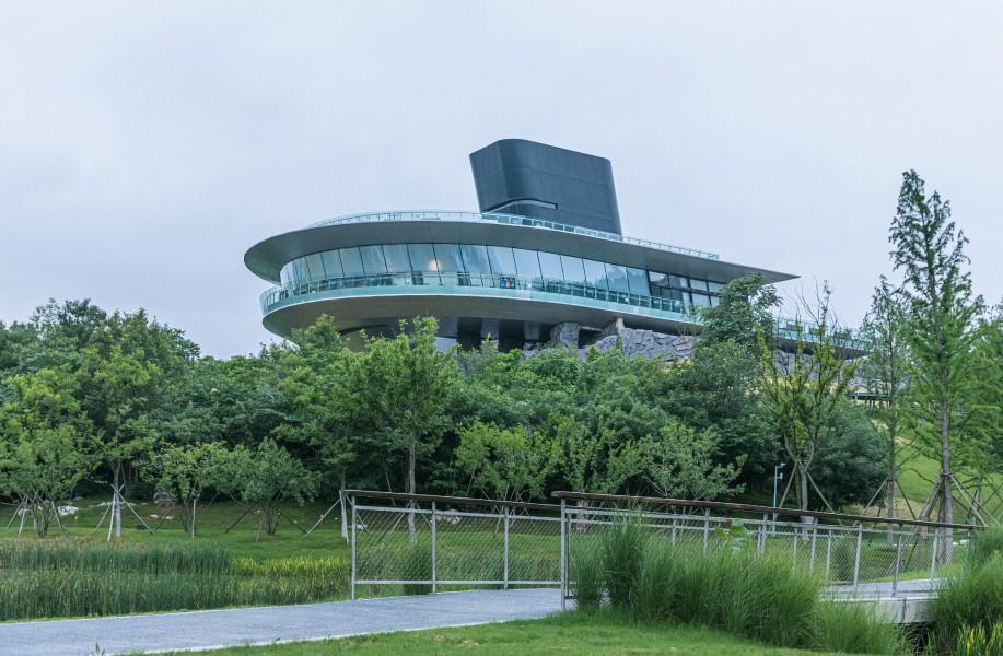 汤山星空餐厅:融合中显个性 / MENG建筑创作院(深总院)