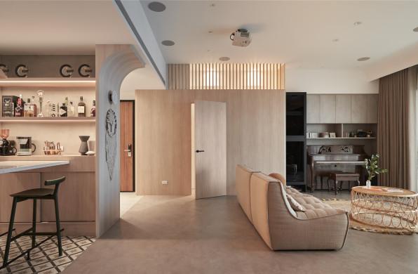 一家三口的创意秀场:Homebody / HAO Design