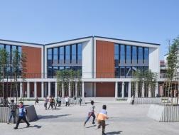 文脉之上的自然营造:双河镇九年义务制学校震后重建与复兴 / 同济院