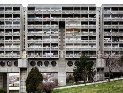 欧洲的粗野主义集合住宅遗产