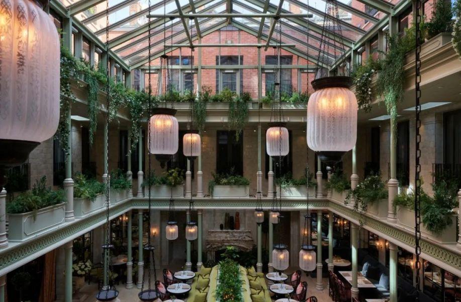 设计酒店54 | NoMad London:新浪漫主义