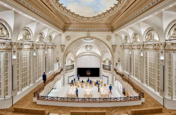 建筑一周 | 福斯特事务所将电影院改造为苹果店;谷歌于纽约开设首家实体零售店;2021年欧洲建筑遗产干预奖公布