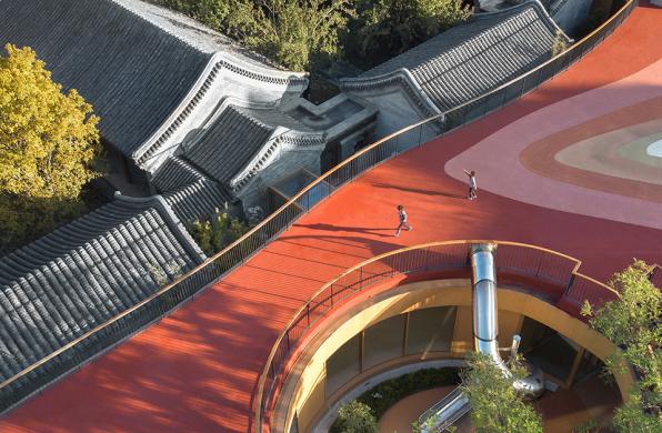 建筑地图133   京城里的新房子