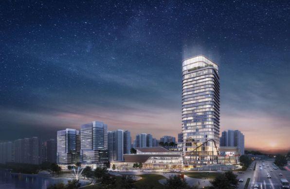 在建方案 | 张家界西站综合体 / XL STUDIO