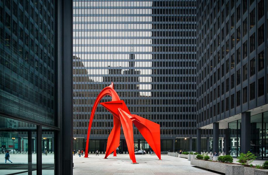 经典再读119   芝加哥联邦中心:不朽的城市姿态