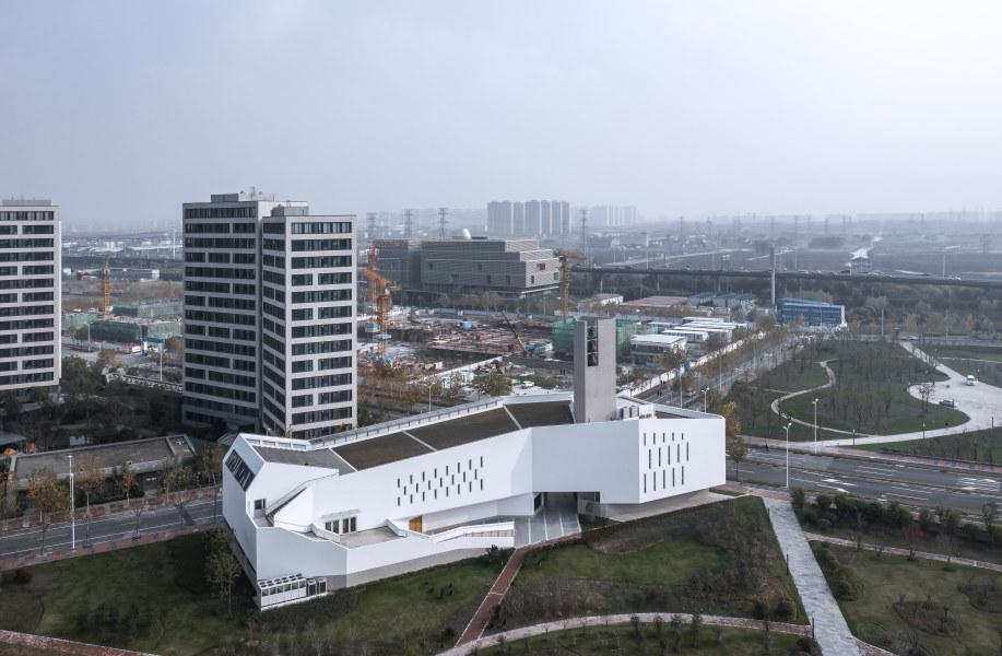 上海前滩基督教涌恩堂:向城市开放 / Abalos + Sentkiewicz AS+