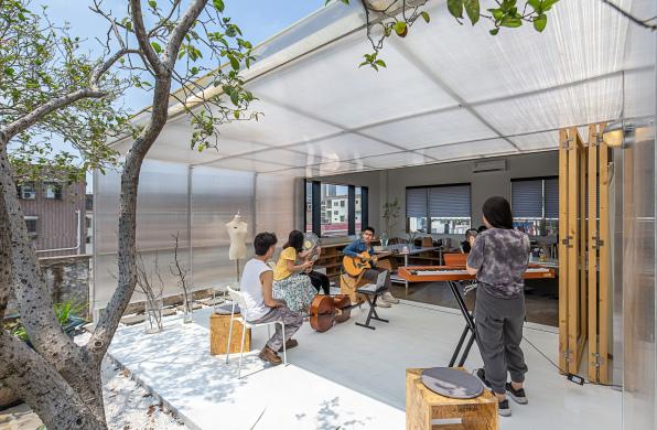 天台建筑工作室:开放性的渐变 / 泥木建筑工作室