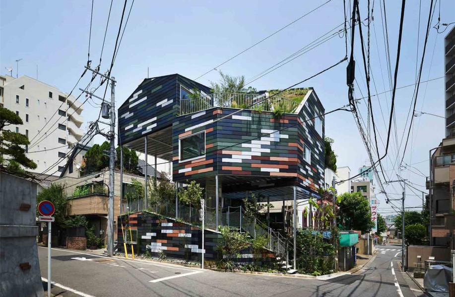 Overlap House:容纳自然的层叠住宅 / 平田晃久建筑设计事务所