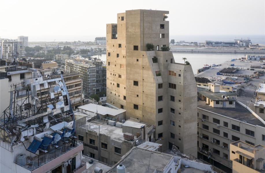 """贝鲁特石之花园公寓:爆炸后的""""幸存者"""" / Lina Ghotmeh — Architecture"""