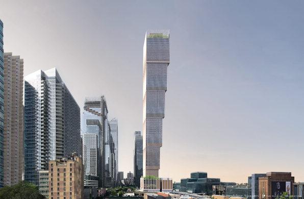 阿贾耶最新方案:纽约肯定塔,高逾500米的倒阶梯形大厦
